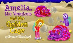 Amelia the Venutons cover with text