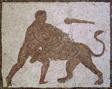 Mosaico Trabajos Hércules (M.A.N. Madrid) 01